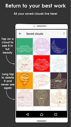 Word Cloud screenshot 7