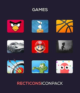 Recticons - Icon Pack Screenshot