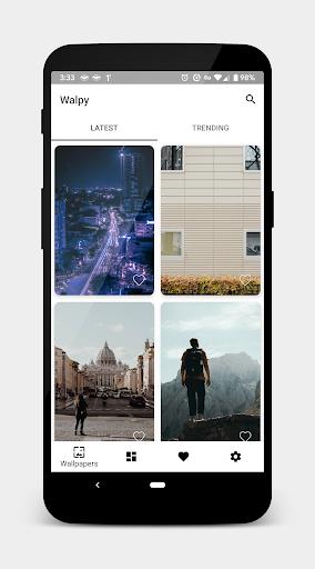 Walpy - Wallpapers 2.1.0 screenshots 1