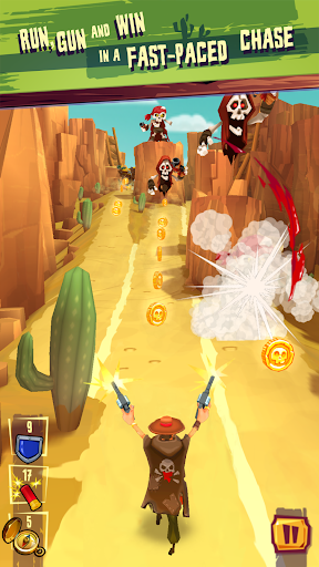 Run & Gun: BANDITOS screenshot 2