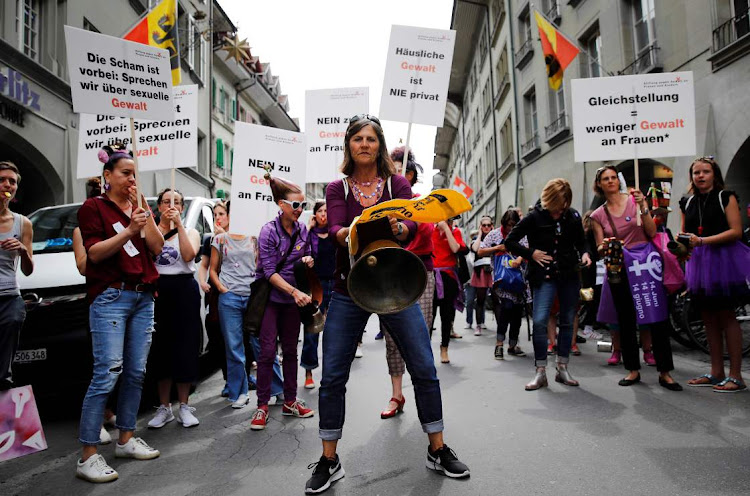 Women strike to secure the rights promised in Swiss constitution