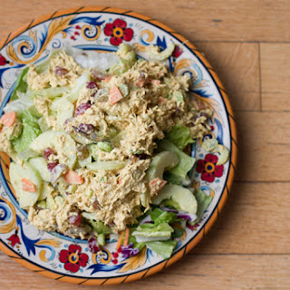Low Carb Curry Chicken Salad.