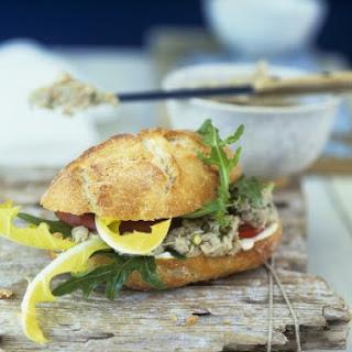 Fish Pate Sandwich.