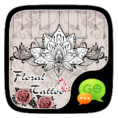 FREE-GOSMS FLORAL TATTOO THEME