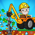 Idle Miner Tycoon: Gold & Cash Game icon