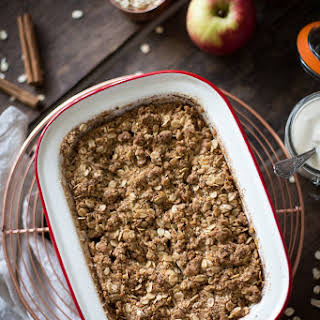 Rolled Oat Apple Crumble Recipes.