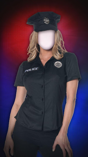 Women Police Photo Suit Maker