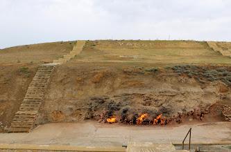 Photo: Yanardaghin palava kallio