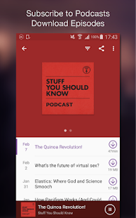 CastBox - Podcast Radio Music- screenshot thumbnail