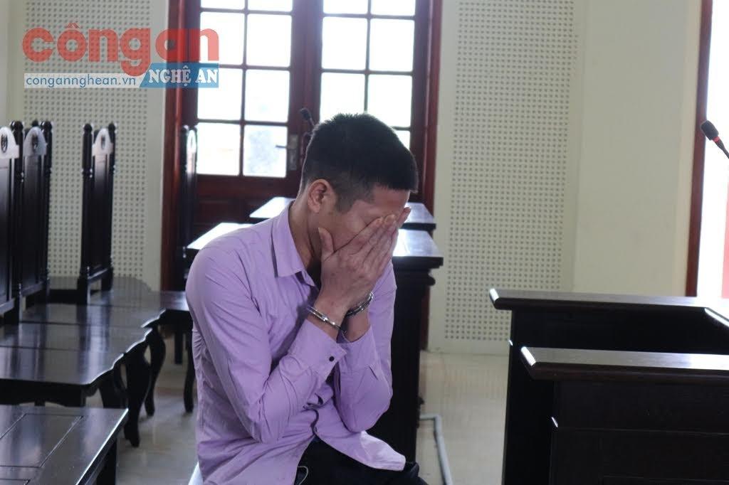 Bị cáo Cao Văn Sỹ ân hận trước hành vi phạm tội của mình