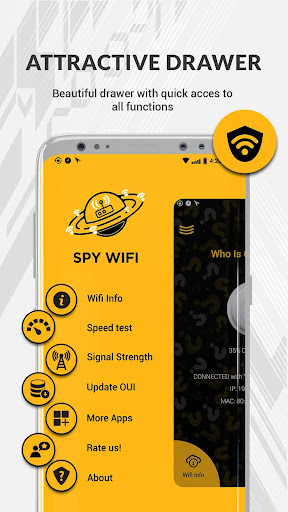Who is Connected to my WiFi - Spy WiFi Inspector app (apk
