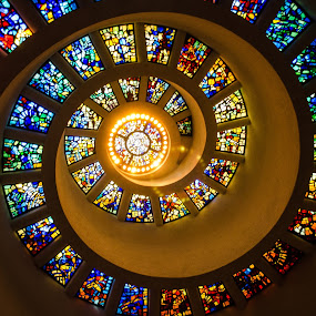 Thankgiving Chapel by Jen Hamrick - Buildings & Architecture Places of Worship ( circle, pwc79,  )