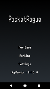 Pocket Rogue (Simple Roguelike) Screenshot