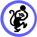 LCD Monkey Thief icon
