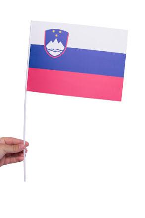 Pappersflagga, Slovenien