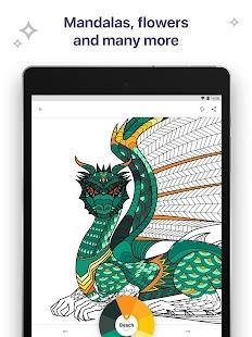 Coloring Book for Me & Mandala apk screenshot 13
