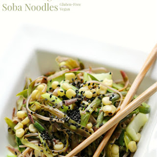Soba Noodle With Vegetables Recipes.