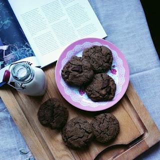 Tahini Chocolate Chunk Sea Salt Cookies