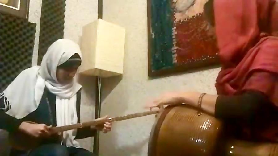 شهرآشوب شور یاسمن ودادی هنرجوی ابتدایی سهتار میترا ابراهیمی