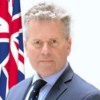 His Excellency Nigel John Dakin