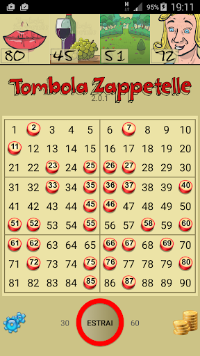 Cartellone Tombola Zappetelle