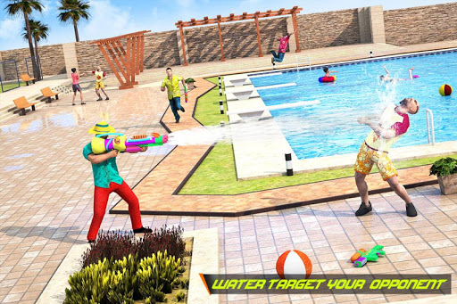 Pool Party Gunner FPS – New Shooting Game 2018 screenshots 2