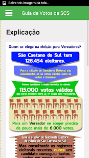 Guia de Votos de SCS- screenshot thumbnail