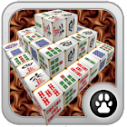 Mahjong 3D Cube Solitaire icon