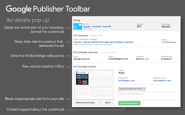 Image result for Google Publisher Toolbar