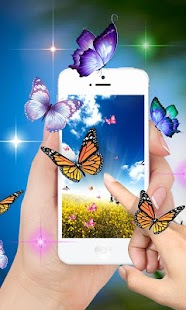 Butterfly Live Wallpaper 2017 - náhled