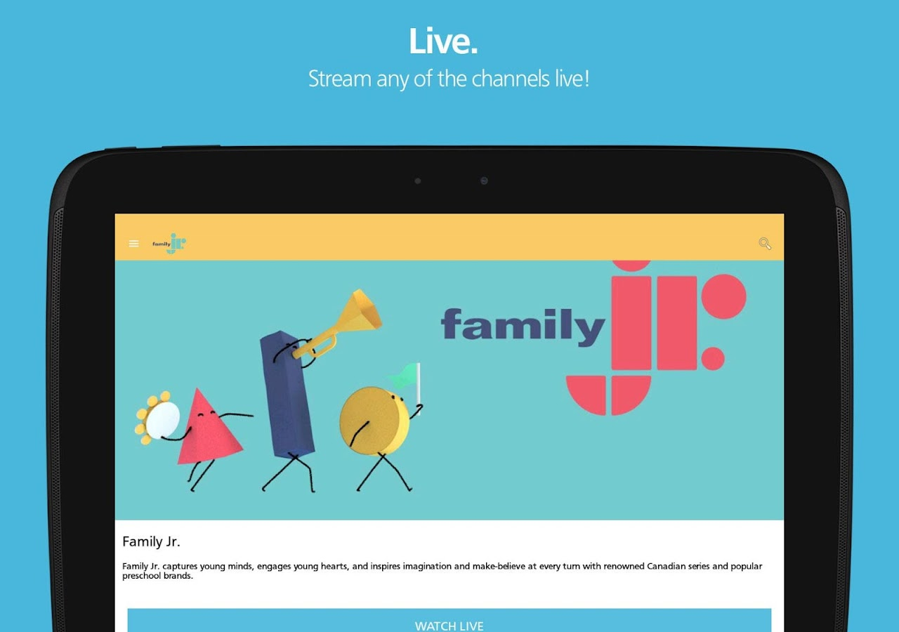 Family Channel- screenshot