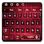 Red Technology Keyboard