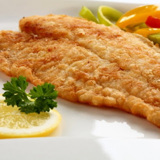 Golden Battered Fish Fillet
