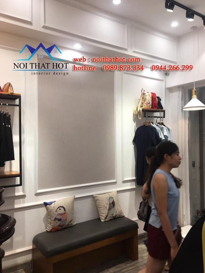 thiết kế shop thời trang công sở lạ mắt