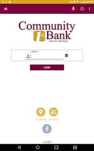 Community 1st Bank Mobile- screenshot thumbnail
