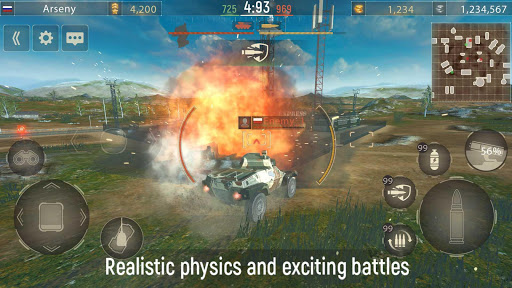 Metal Force: PvP Car Shooter  screenshots 15