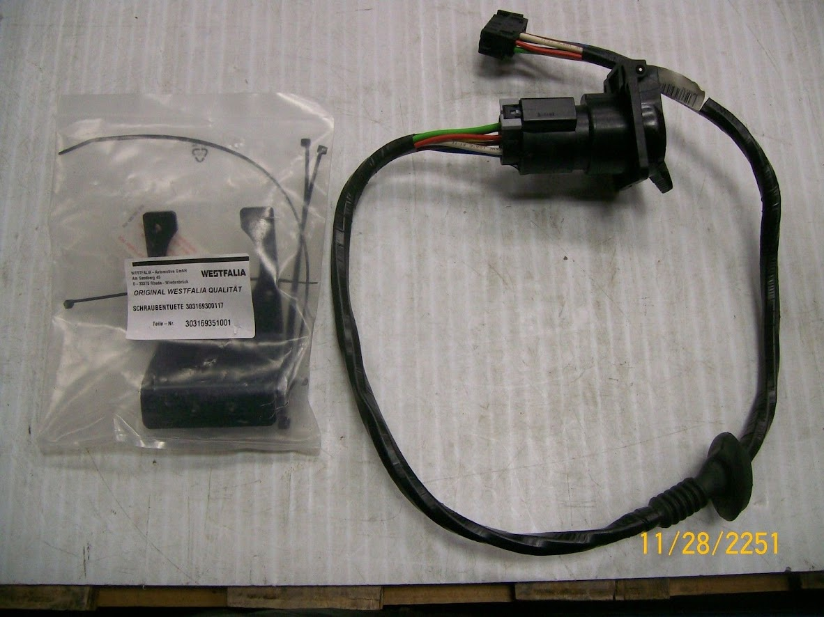 2003 x5 bmw time for a trailer hitch xoutpost com here is the oe westfalia wiring harness that i was able to several years ago in new condition