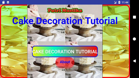 cake decoration tutorial programu zilizo kwenye google play