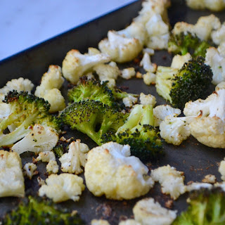 Roasted Cauliflower & Broccoli.