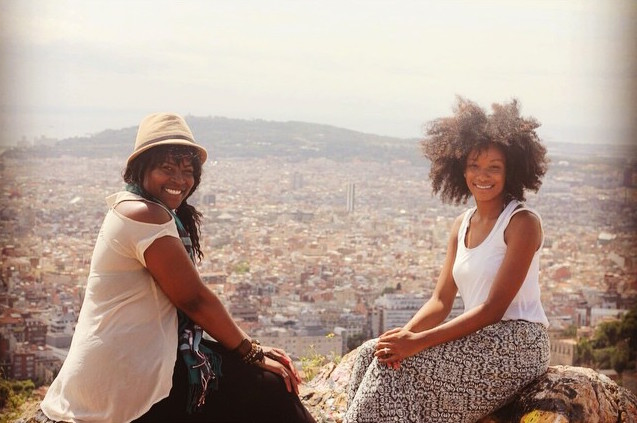 I met other solo traveler, Gloria on instagram and we hung out all day long!