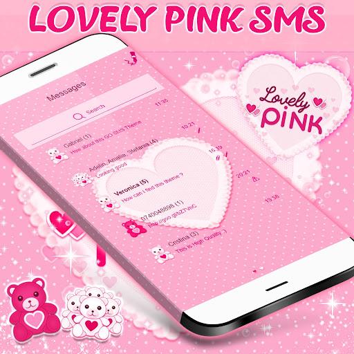 Pink SMS Themes 1.311.1.28 screenshots 2