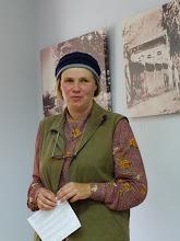 Photo: Diana Stungurienė pristato filmus-premjeras apie Bitėnų kaimo gyventojus.
