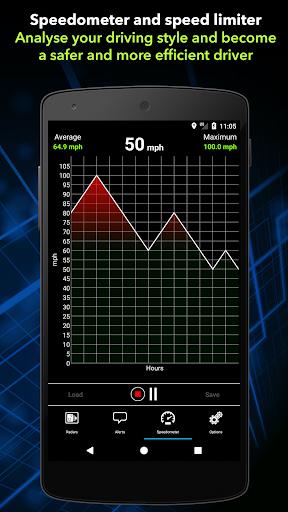 Radarbot Free: Speed Camera Detector & Speedometer  screenshots 4