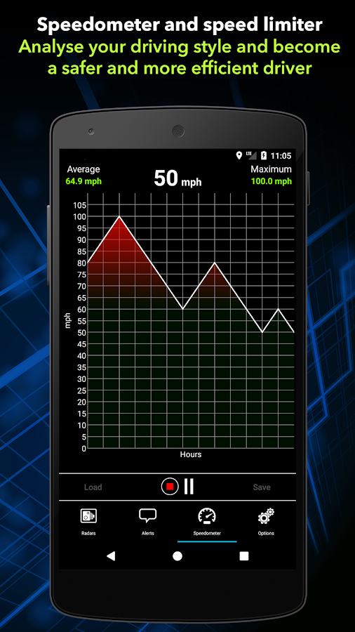 Radarbot Free: Speed Camera Detector & Speedometer- screenshot