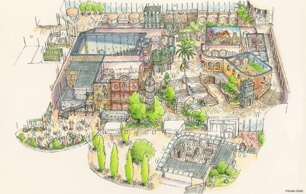 愛知縣 吉卜力樂園 2022年開幕!《龍貓》、《霍爾的移動城堡》、《魔法公主》…經典場景重現