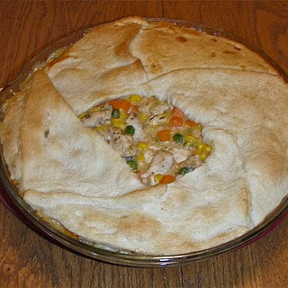 Low-Point Chicken Pot Pie