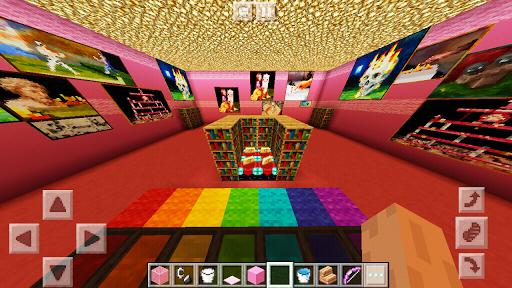 Pink House MCPE Princess Castle for Girls 1.1 screenshots 1
