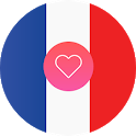 France Dating App and French Chat Free icon