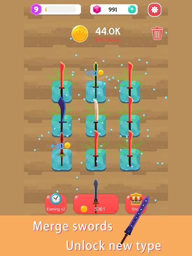 Merge Sword - Idle Blacksmith Master  screenshots 8