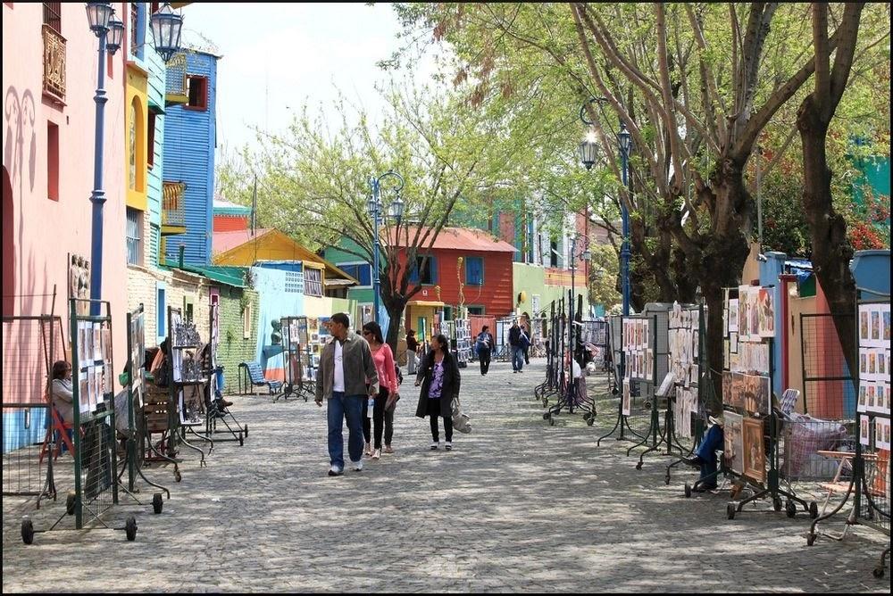 La Boca, o bairro colorido de Buenos Aires
